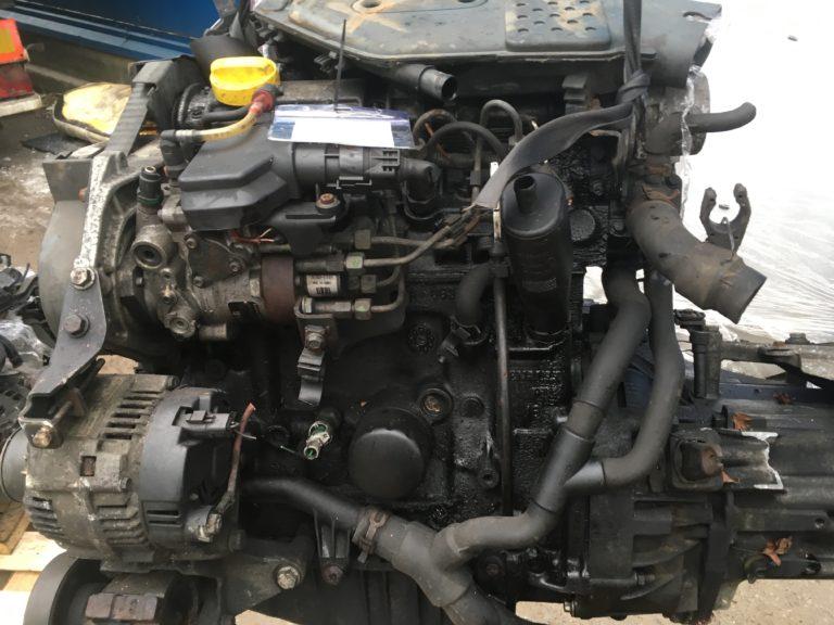 Двигатель контрактный Рено Кангу 1.8тд F8Q 632/ F8Q 630