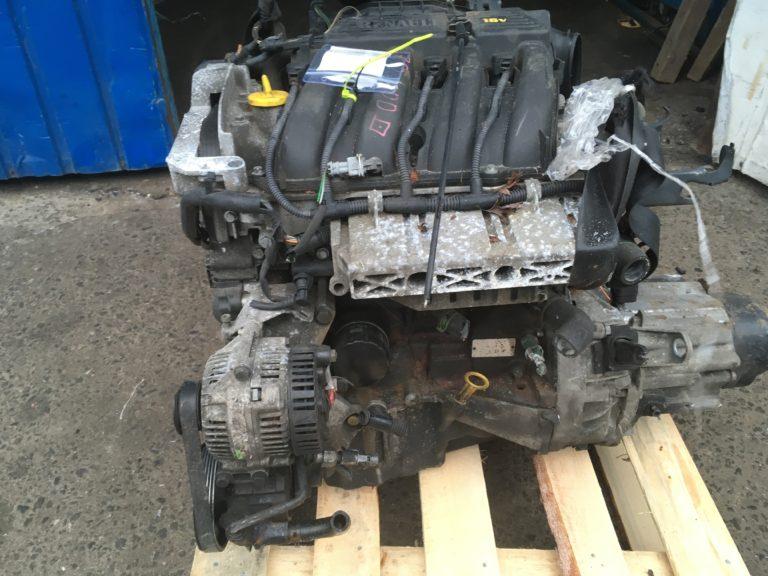 Двигатель контрактный Рено 1.4и K4J750 D102430