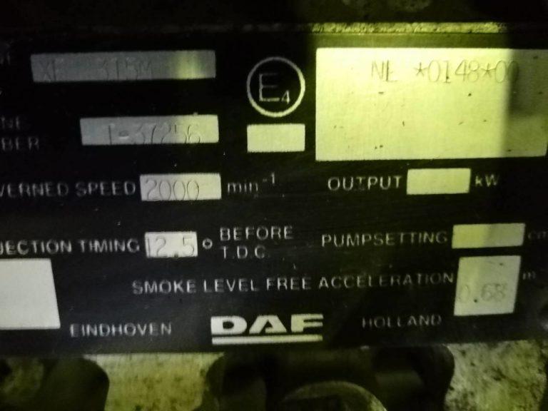 Контрактный Двигатель ДИЗЕЛЬНЫЙ ДЛЯ DAF XF 315M