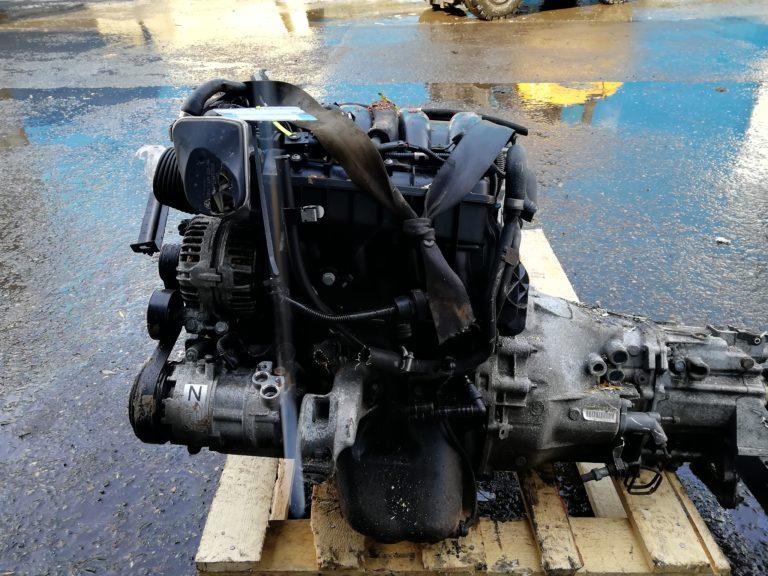 Контрактный двигатель бу 2.0и N42B20 A542G701 для БМВ Е46