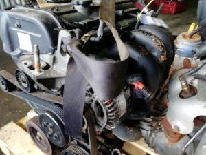 Контрактный двигатель бу Форд 1 1,6и FYDB YC33466 (FYDB; FYDA)