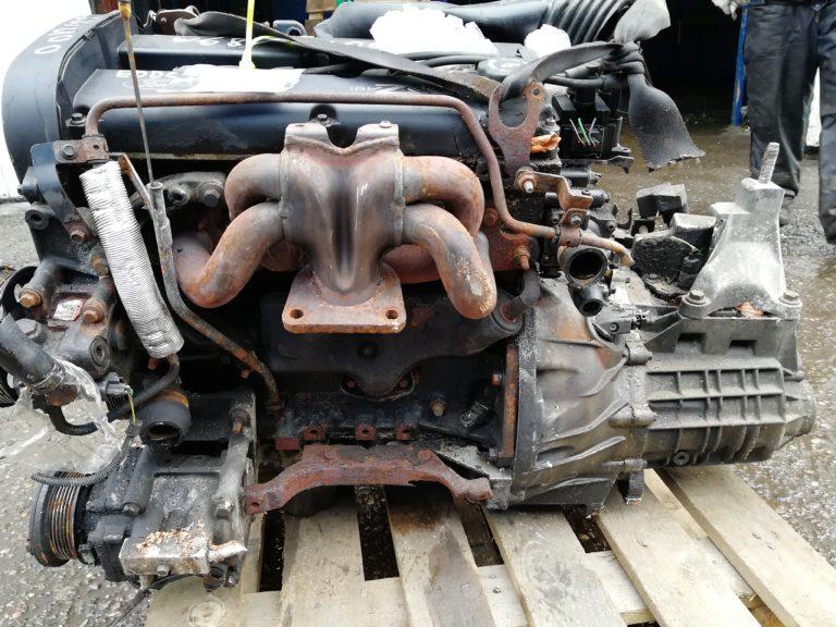 Контрактный двигатель бу Форд Фокус 1 2,0и 16V EDDC YK72544