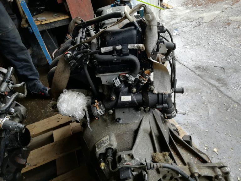 Контрактный двигатель бу Форд 1 1,6и 8кл. CDRA 4D30603