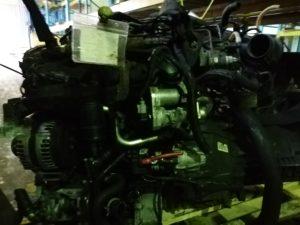 Контрактный двигатель Форд Транзит 2.2 дизель QWFA 6P42479 с навесным