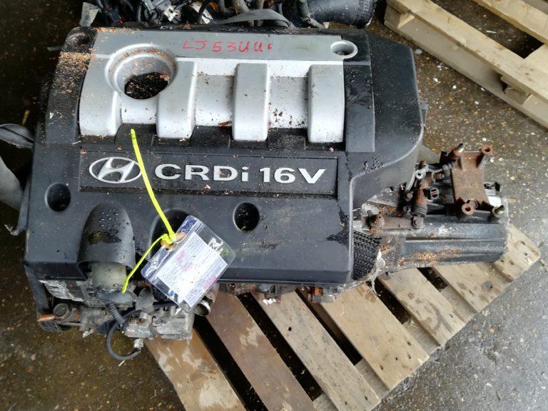 Контрактный двигатель Хендай Санта Фе, Элантра, Траджет, Туксан, Соната 2.0тд D4EA 3211110266