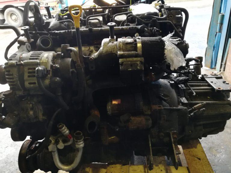 Контрактный двигатель Хендай Санта Фе, Элантра, Траджет, Туксан, Соната 2.0тд D4EA 6H19039