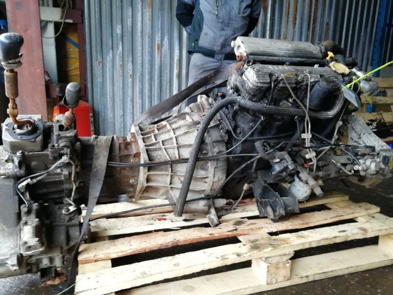 Двигатель контрактный Ленд Ровер Дискавери 1 2.5тд 21L 53765F