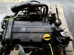 Контрактный двигатель Опель Астра, Зафира, Мерива, Вектра 1.4и Z14XEP 19DR2567