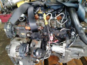 Контрактный двигатель бу Рено 1,5dCi K9k732 D175152 Siemens Меган, Сценик