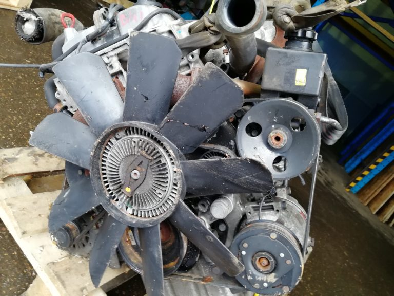 Контрактный двигатель бу Ssangyong Rexton 2.7тд D27DT 665925 22503240