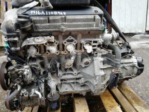 Контрактный двигатель Сузуки Лиана 1.6и M16A-1108948