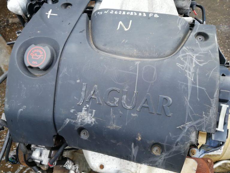 Контрактный Двигатель Ягуар S-Type 3.0 бензин AJ30 262808383FB с навесным