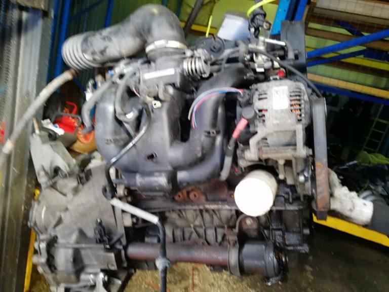 Контрактный двигатель бу Форд Фокус 1 1,8и 16V EYDC WR16908
