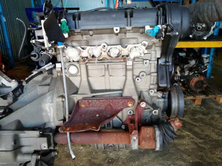 Контрактный двигатель Форд 1,6и HWDA 6R58840 100 л.с.