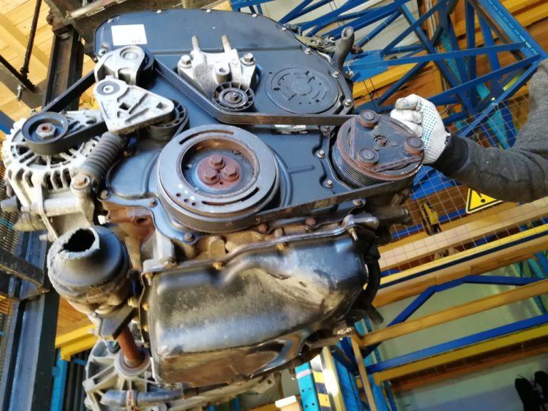 Контрактный двигатель Форд Мондео 3 2.0TDCi D6BA 1C27473