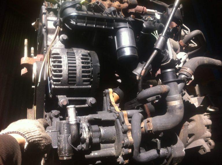 Контрактный двигатель Форд Транзит 2.2 дизель P8FA 7J35621 с навесным