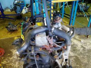 Контрактный двигатель Форд Транзит Коннект 1,8тд HCPA 3MS4355