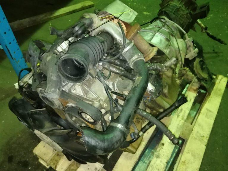 Двигатель контрактный Ленд Ровер Дискавери 2 2.5тд 10P /TD5