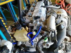 Контрактный двигатель Мазда 6, MPV II 2.0TD RF5C RF329310