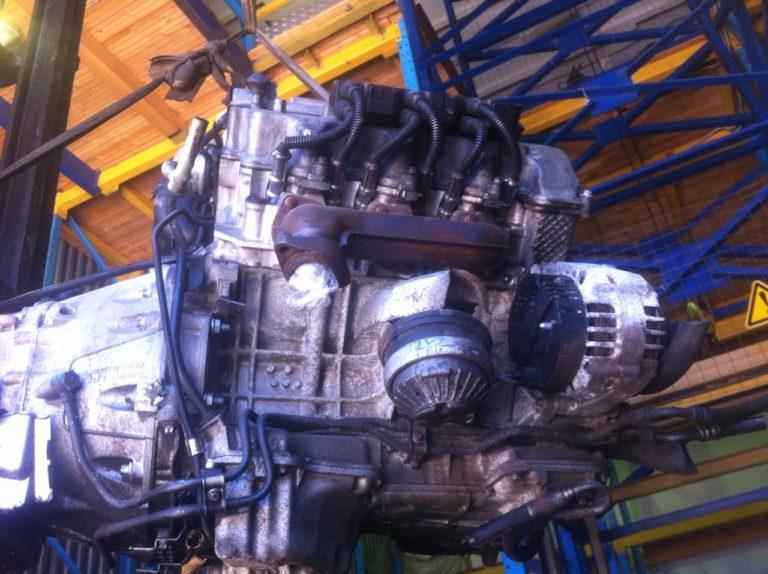 Контрактный двигатель Мерседес С260, CLK 2.6и V6 112912 30894777