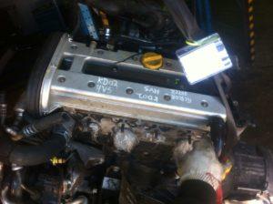Контрактный двигатель Опель Омега 2.2и Z22XE 31028731