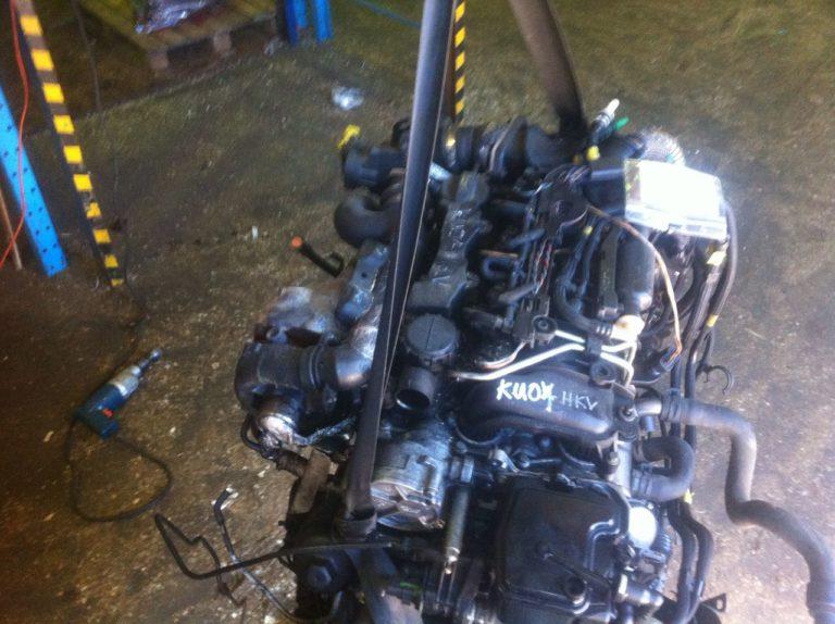 Контрактный двигатель Пежо 1,6д DV6TED4 9HZ (9HZ) JB060007484
