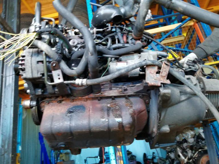 Контрактный двигатель Ситроен 1.9д WJY/DW8B DXFP6025689 Берлинго