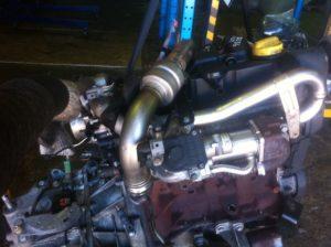 Контрактный двигатель бу Рено 1,5dCi K9k732 D166616 Siemens Меган, Сценик