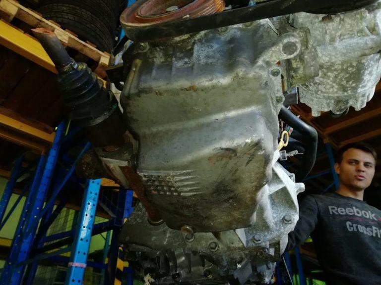 Двигатель контрактный Рено 1.6и K4M760 D056324 / K4M761