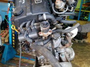 Контрактный двигатель Шевроле Такума 1,6и A16DMS 314713B