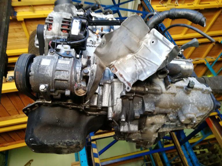 Контрактный двигатель Шкода Фабия 2008г. 1198 И BBM/CHFA BBM043485