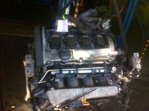 Двигатель контрактный VW 1.8т AGU 136276 (AQA/ARZ/AUM/AWD/AWW) Гольф, Бора