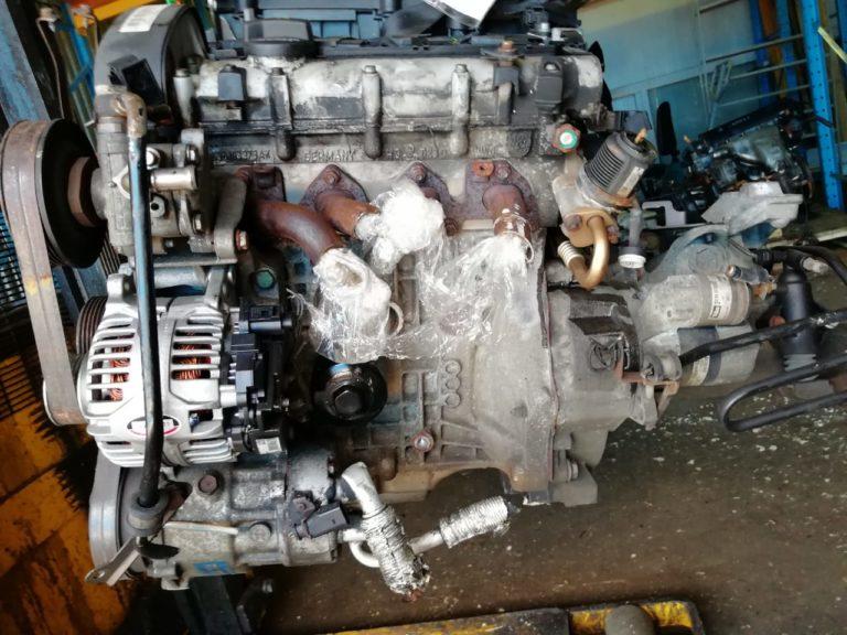 Контрактный двигатель бу VAG 1.4и 16V BCA 133122D (BKY,BBY,AKQ,APE,AUA)