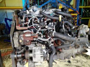 Контрактный двигатель Форд Фокус 2 1,8тд KKDA 7Y12104