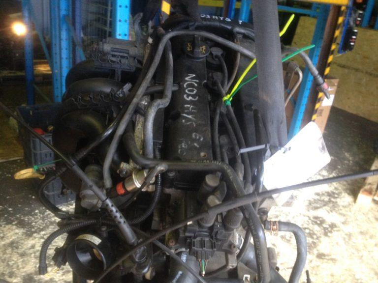 Контрактный двигатель бу Форд 1 1,6и FYDB 3E89454 (FYDB; FYDA)