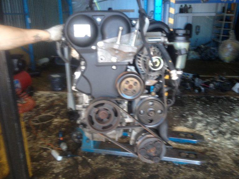 Контрактный двигатель Форд 1,6и SHDA 7S25257 100 л.с.