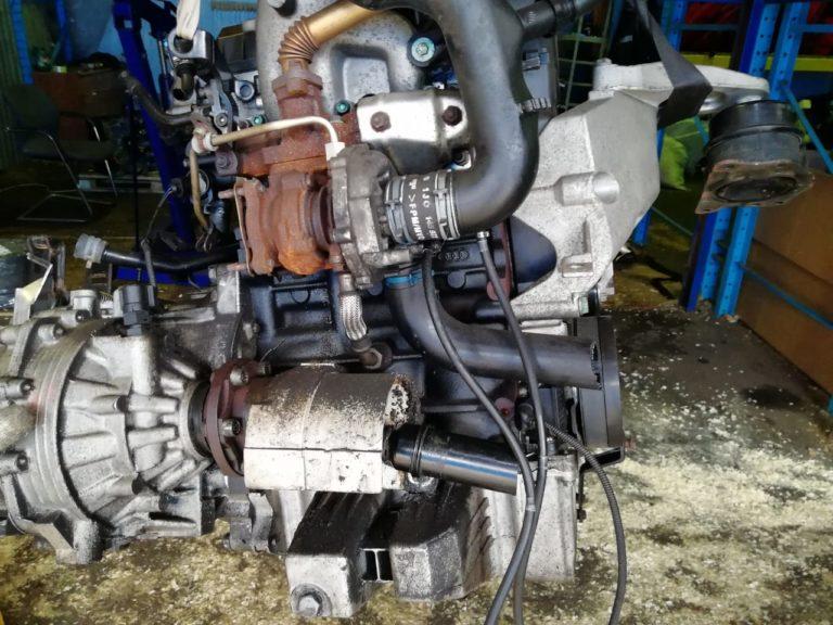 Контрактный двигатель бу VAG 1.4TDi AMF 158113