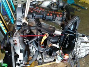 Контрактный Двигатель Audi 1.9Д (Ауди) A6 2003г. AVF 392283