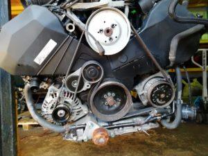 Контрактный двигатель Ауди 2.4И A4 2003г. BDV 58840