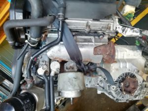 Контрактный двигатель Ауди 2.4И A4 2003г. BDV 63979