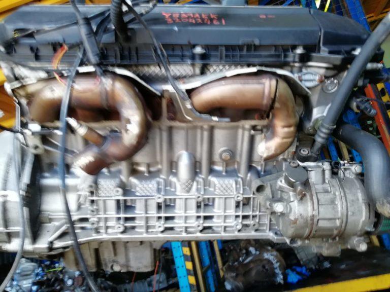 Контрактный двигатель бу 2,2и M54B22 32042461 для БМВ Е46