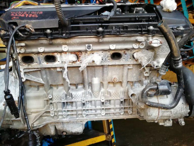 Контрактный двигатель бу 2,5и M52B25 (256S4) 23369864 для БМВ Е46