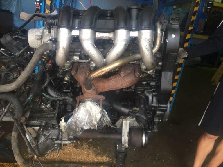Контрактный двигатель Ситроен 1.9д WJY/DW8B DXFR6115011 Берлинго