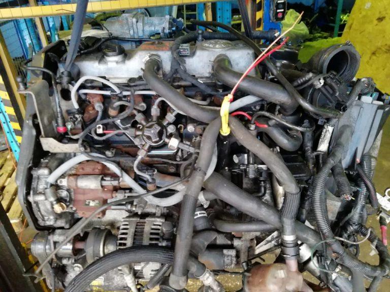 Контрактный двигатель Форд 1,8тд QYBA 8E24363 для Mondeo