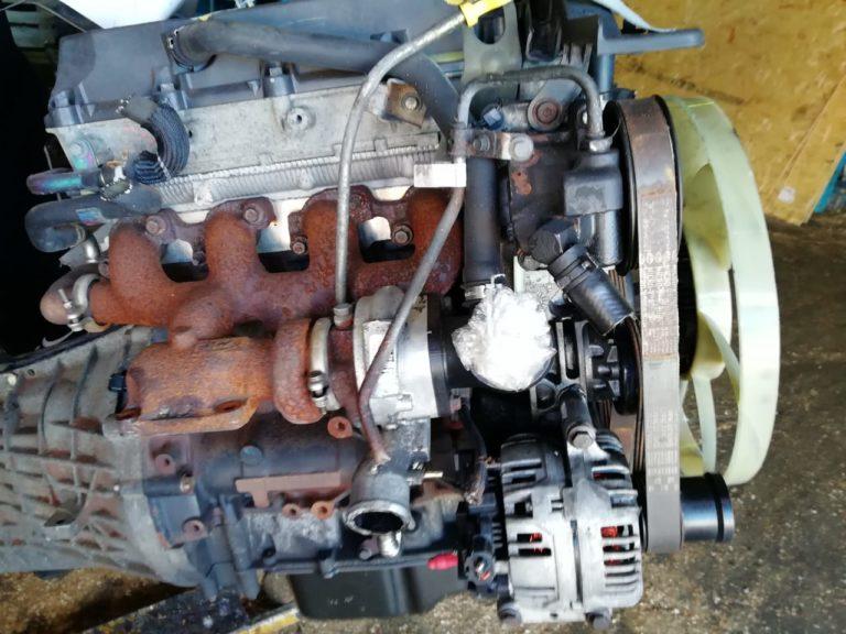 Контрактный двигатель Форд транзит 2000г. D2FA/D2FB YK48152