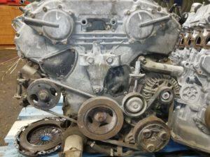 Контрактный двигатель Ниссан Теана 3.5И VQ35DE