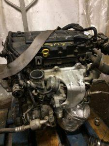 Контрактный двигатель Шевроле Круз / Опель Мокка 1.4И U14NET A14NET