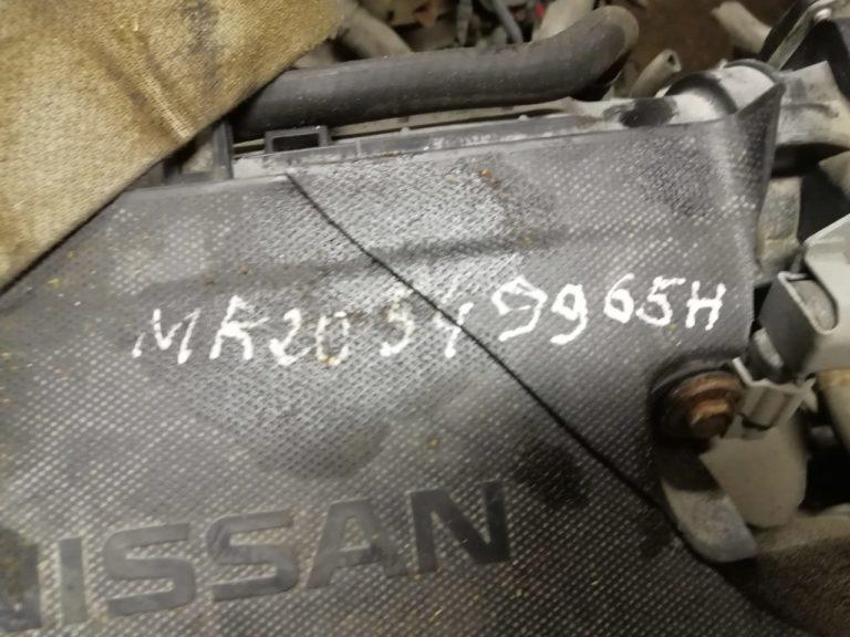 Контрактный Двигатель Nissan 2.0И (Ниссан) MR20DE 138л.с.