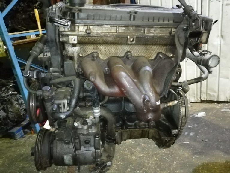Контрактный Двигатель Kia 1.5И (Кия) Рио 2005г. A5D 98л.с.