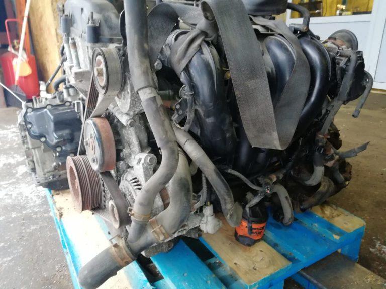 Контрактный двигатель бу Мазда 2,0и LF -(щуп в ГБЦ)